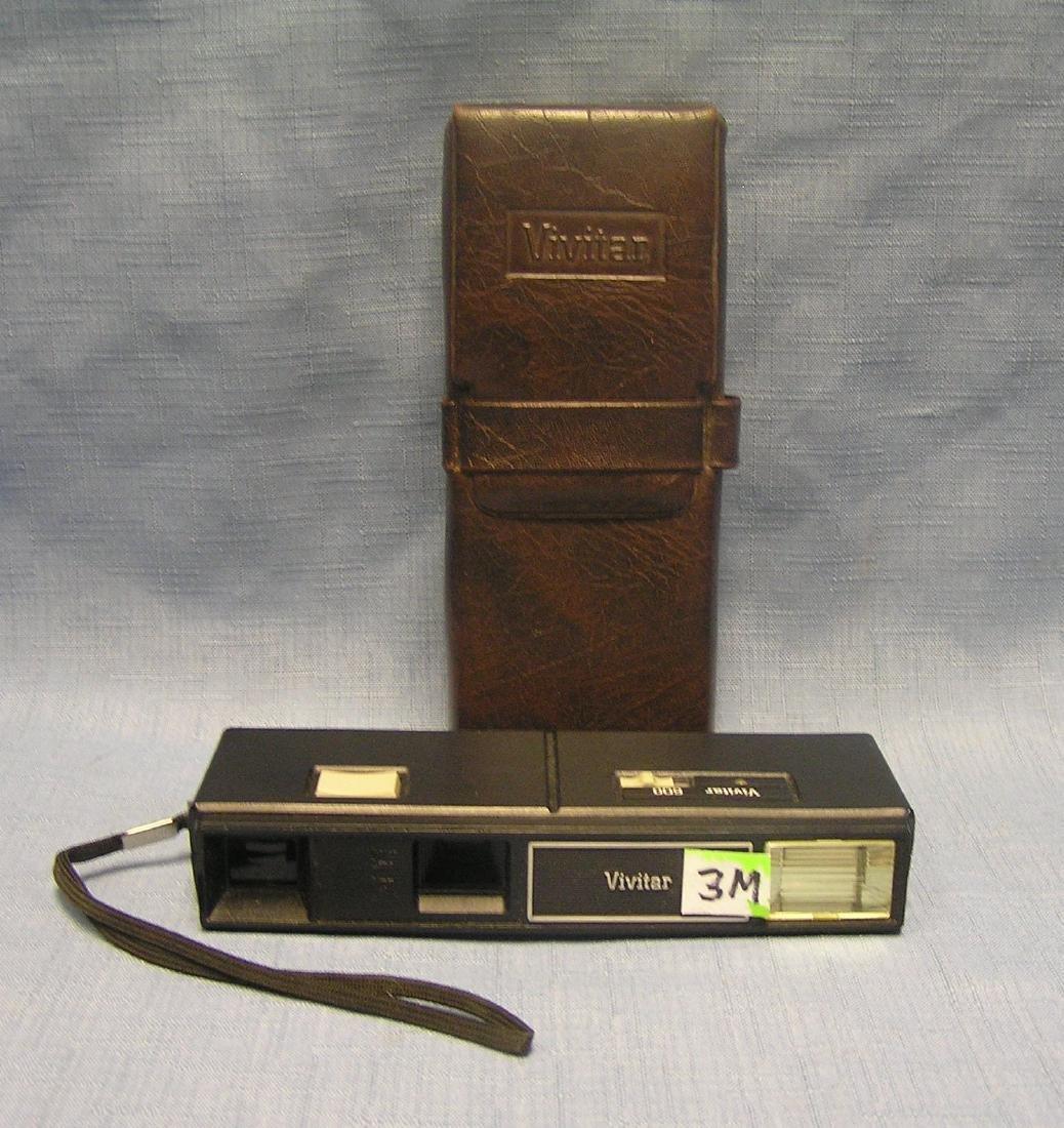 Vintage Vivatar portable camera with case