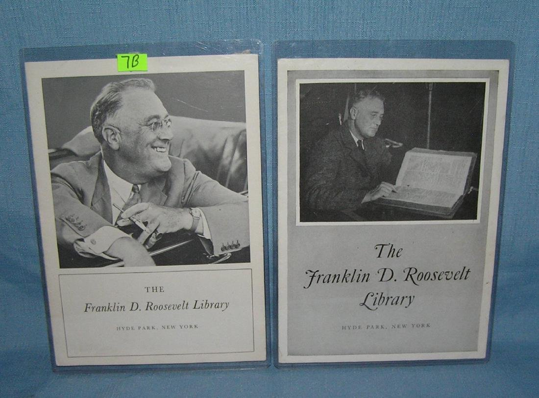 Franklin D. Roosevelt photo illustrated library