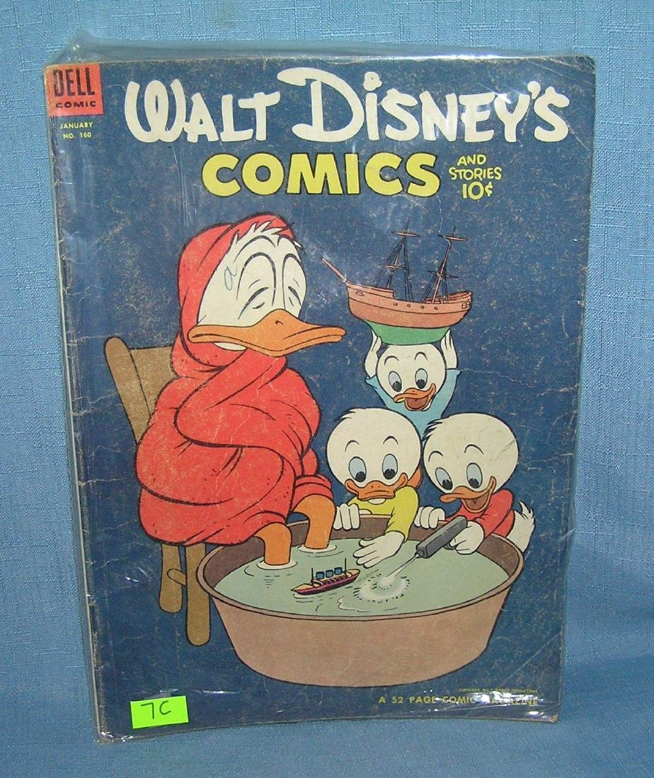 Disney comic featuring Donald Duck and family