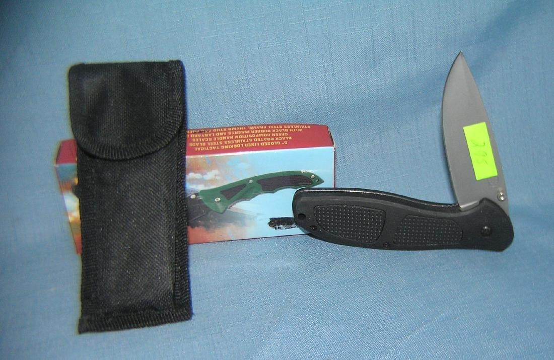 Combat ranger pocket knife