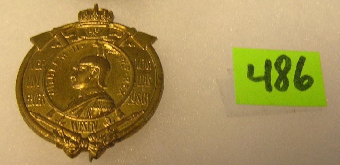 Early WWI German presentation badge