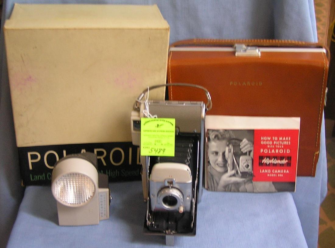 Early Polaroid highlander land camera