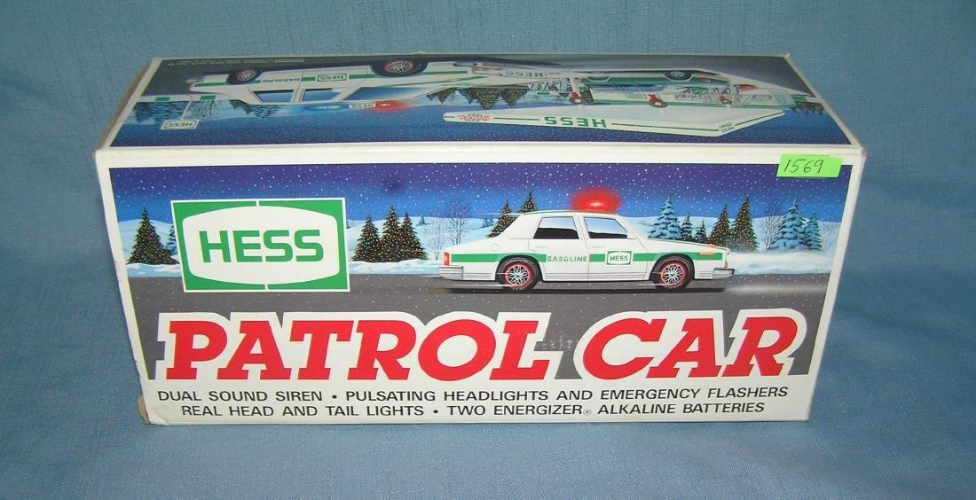 Vintage HESS patrol car with original box
