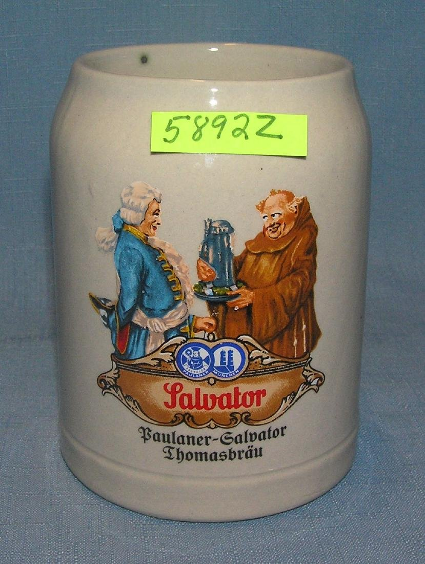 Vintage German beer mug