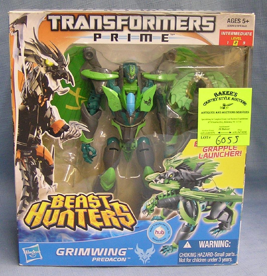 Transformers beast hunters action figure