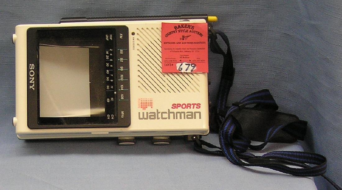 High quality Sony watchman portable TV