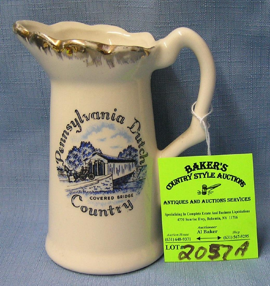 Pennsylvania Dutch decorated creamer
