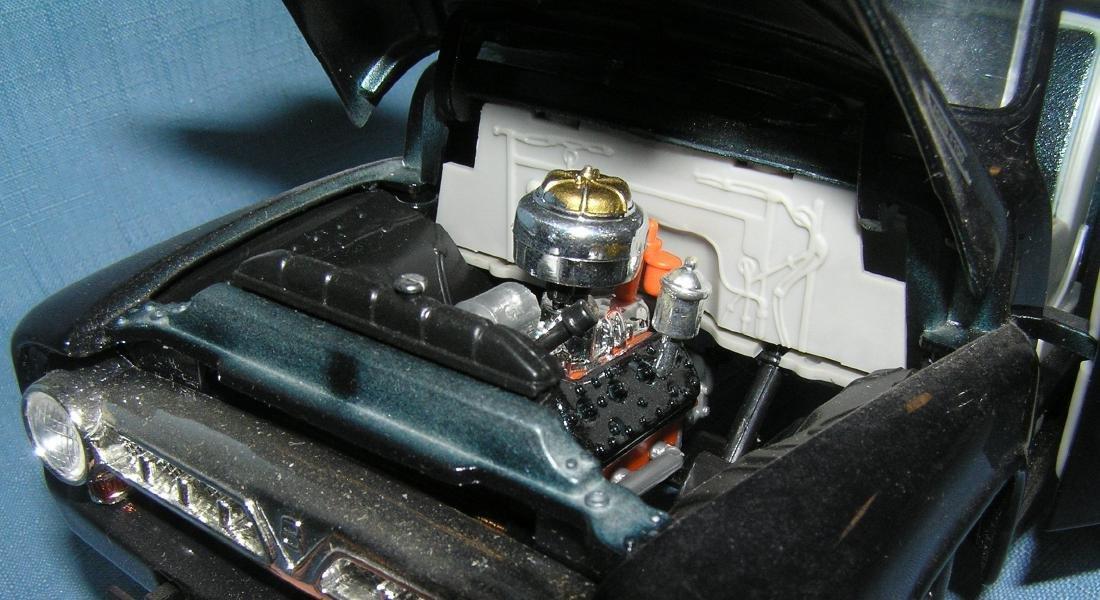 All cast metal Ford pickup truck - 2