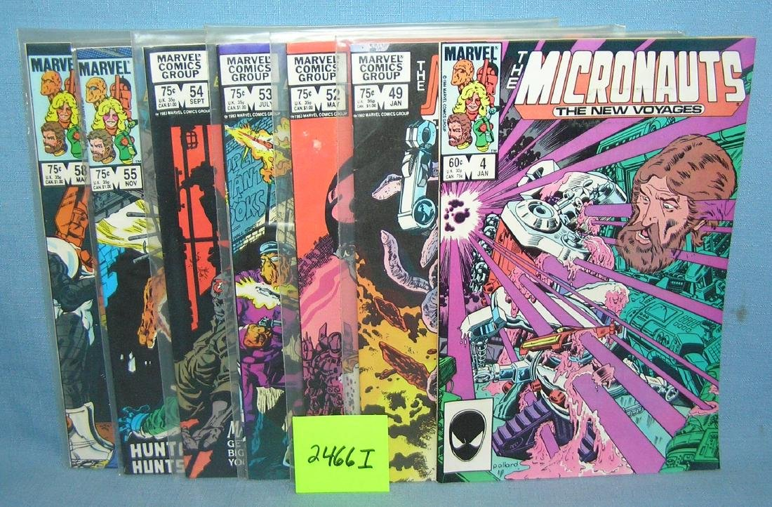 Marvel Micronauts comic books
