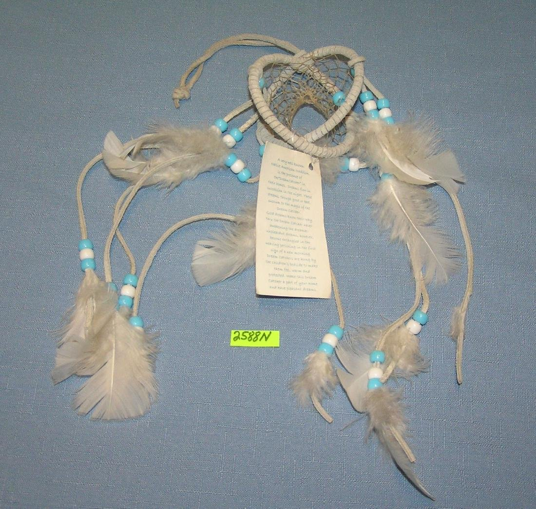 American Indian beaded dream catcher