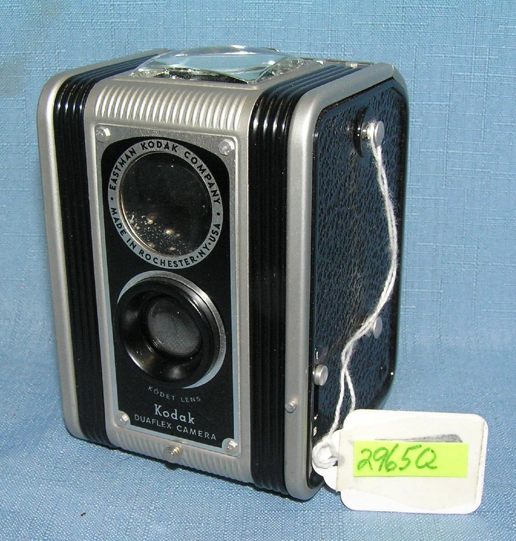 Early Kodak duoflex camera  and more