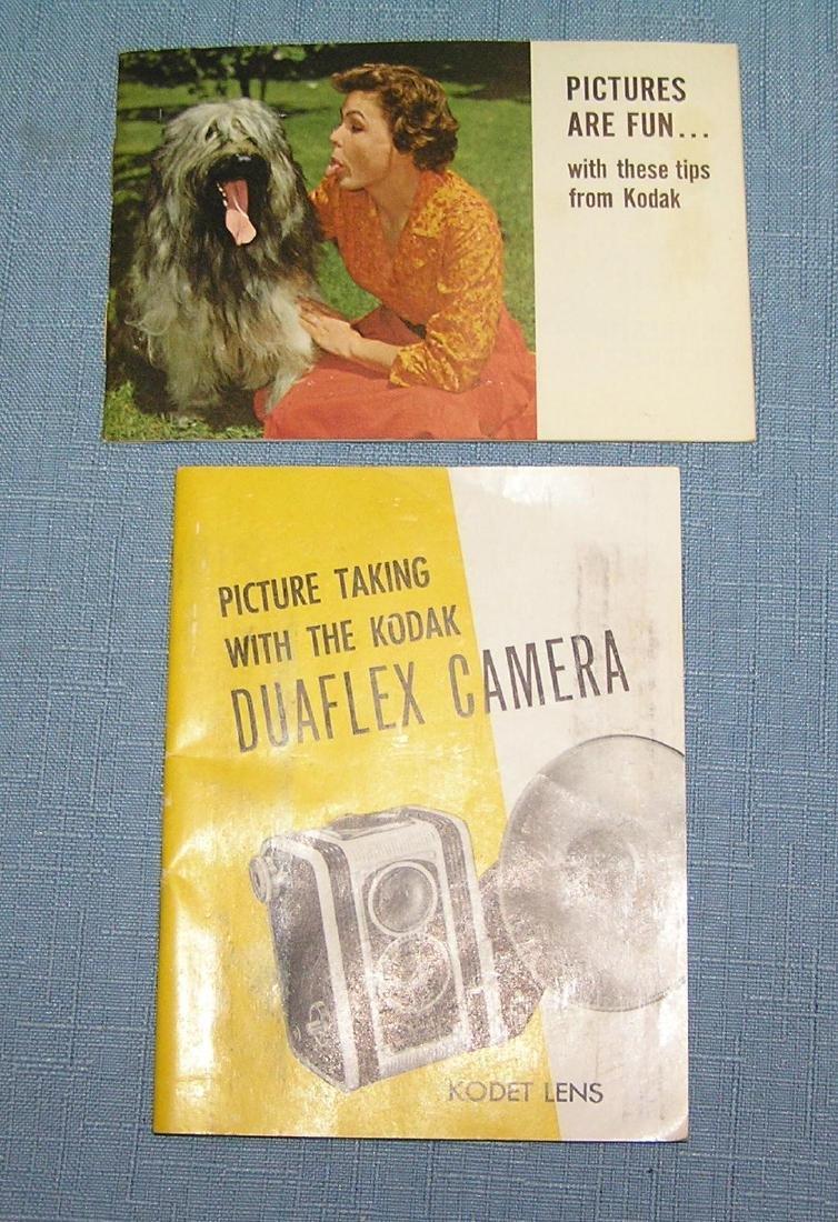 Early Kodak duoflex camera  and more - 6