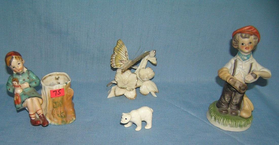 Collection of vintage figurines