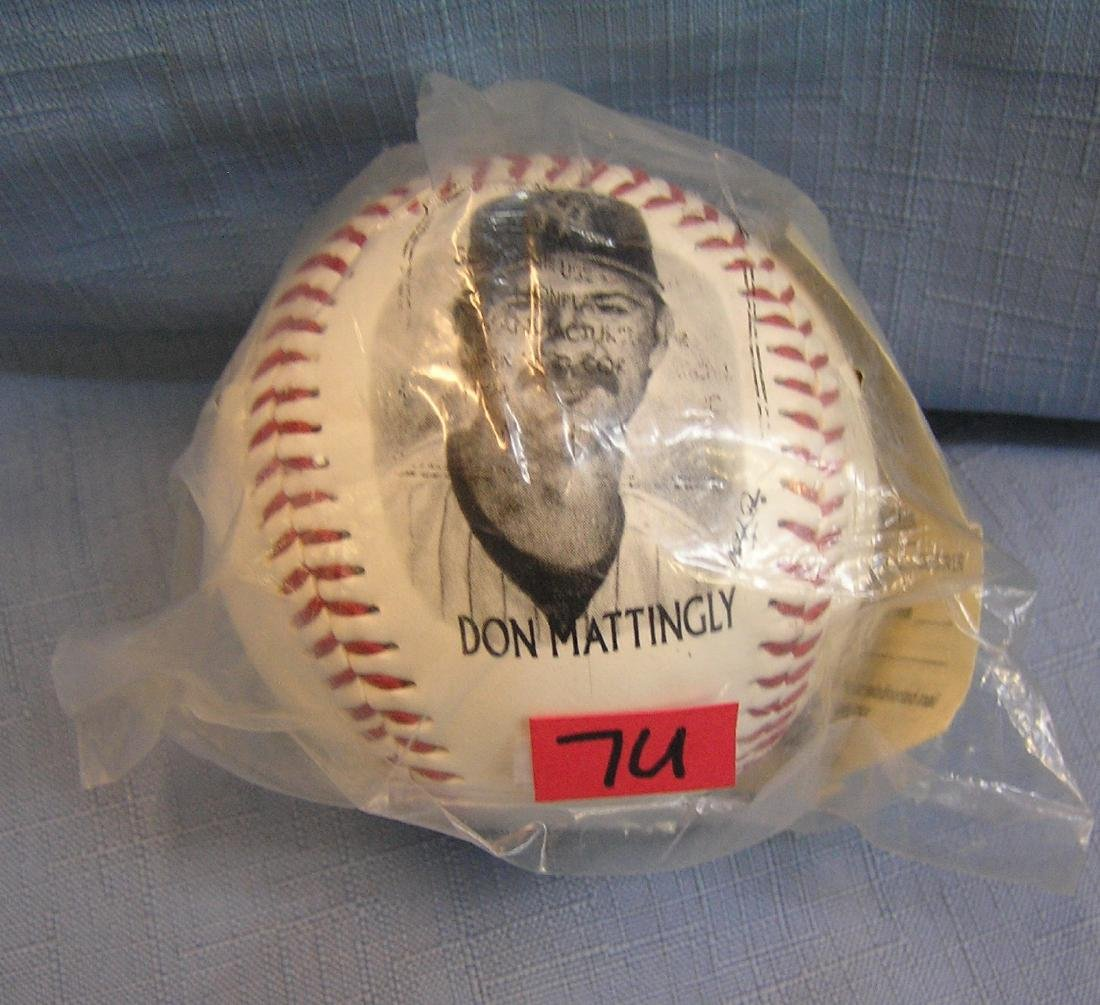 Don Mattingly pictural NY Yankees baseball