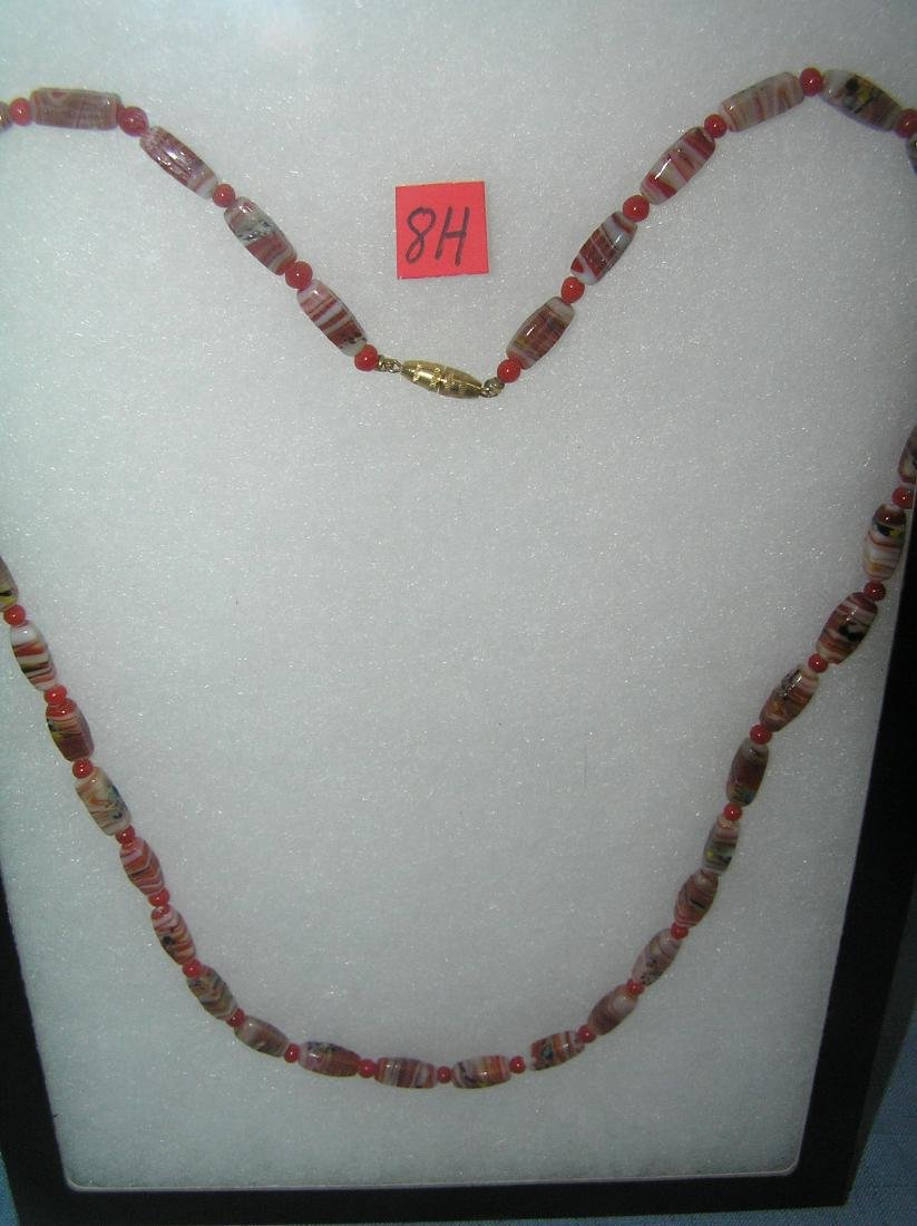 Vintage quality beaded necklace