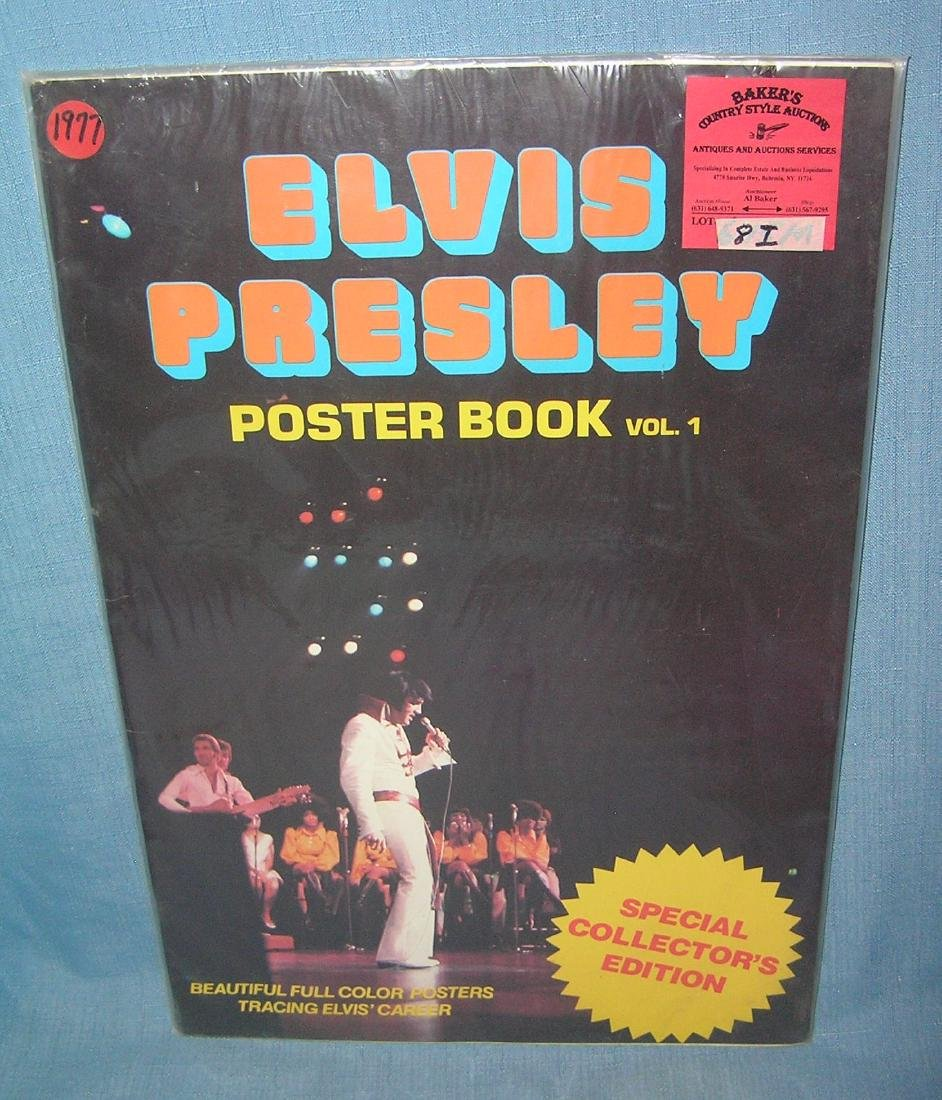 Elvis Presley poster book volume 1, 1977