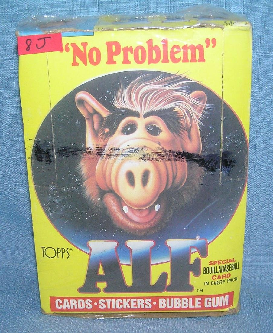 Original Alf collector card box