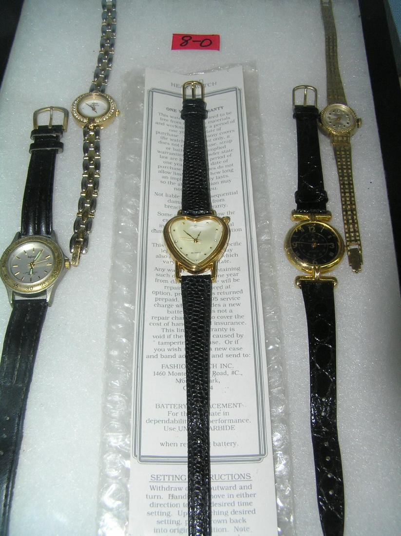 Collection of vintage fashion watches