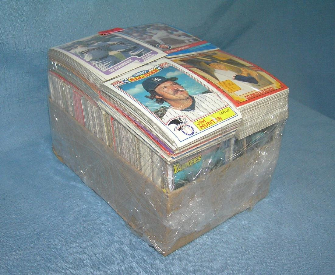 Large collection of over 1000 vintage baseball cards - 2