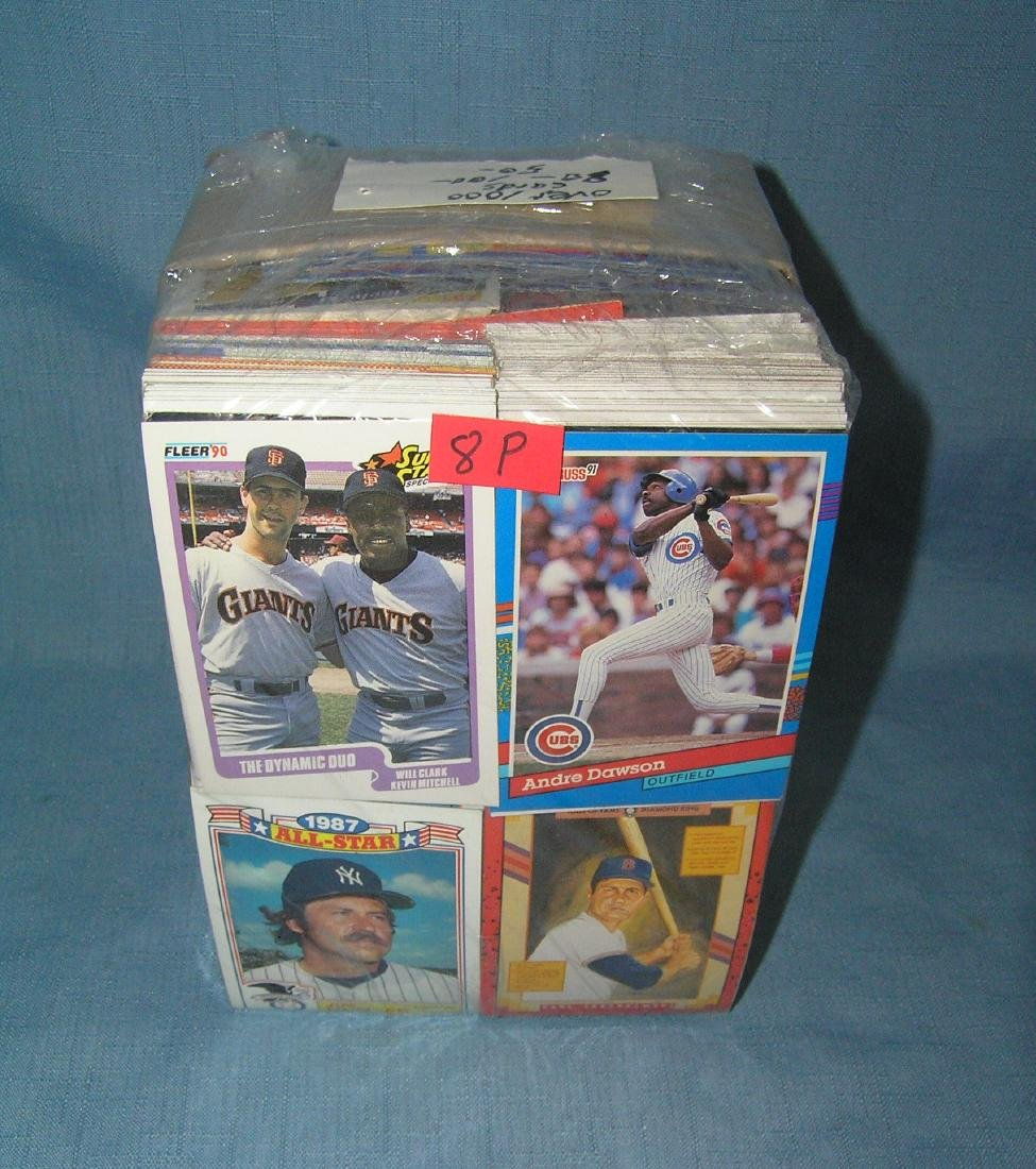 Large collection of over 1000 vintage baseball cards - 3