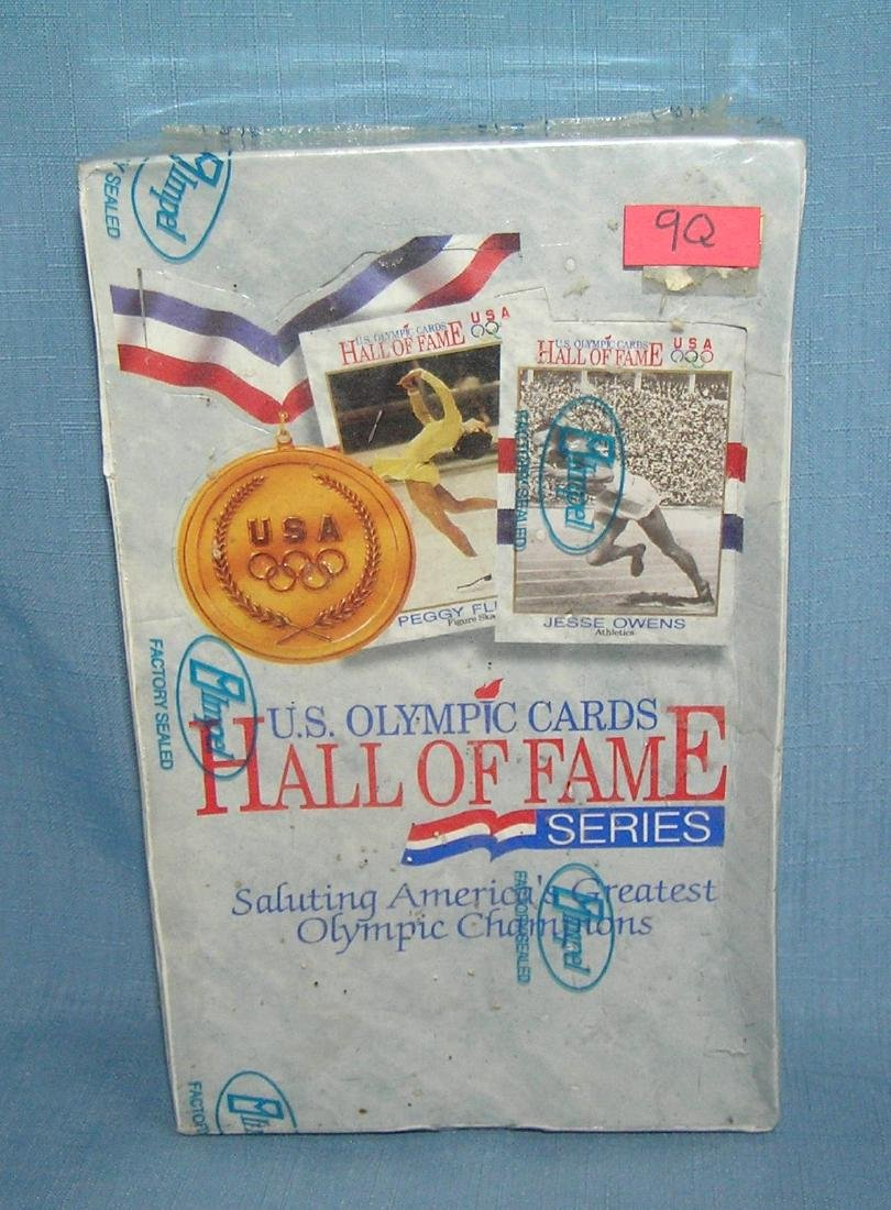 US Olympic hall of fame cards