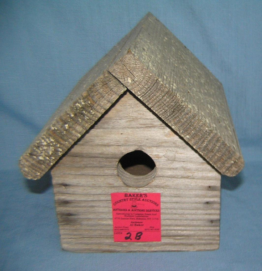 Antique bird house circa 1930's