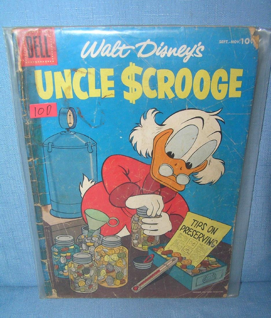 Early Uncle Scrooge 10 cent comic book