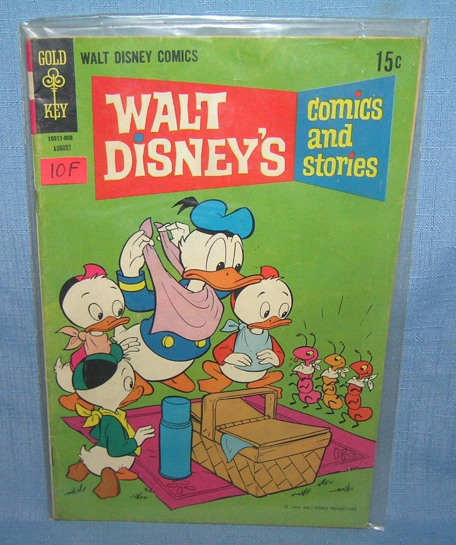 Early Disney's Donald Duck comic book