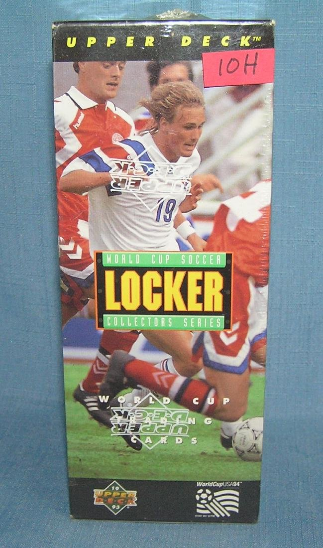 World cup soccer factory sealed collector cards