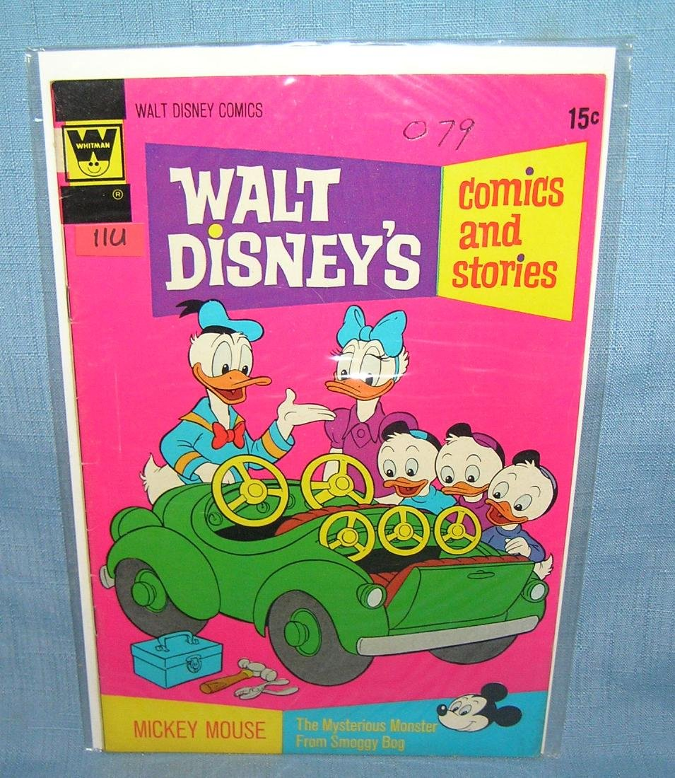 Early Disney's Donald Duck comic book