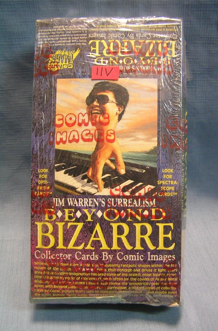 Beyond Bizarre comic image collector cards