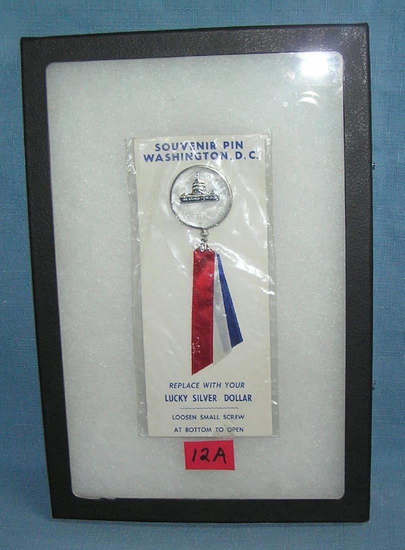Vintage souvenir pin of Washington DC