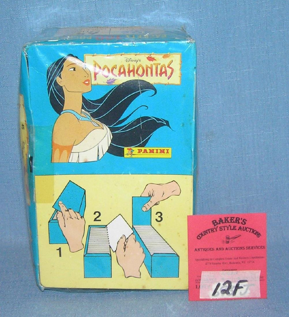 Disney's Pocahontas collectible stickers with org. box