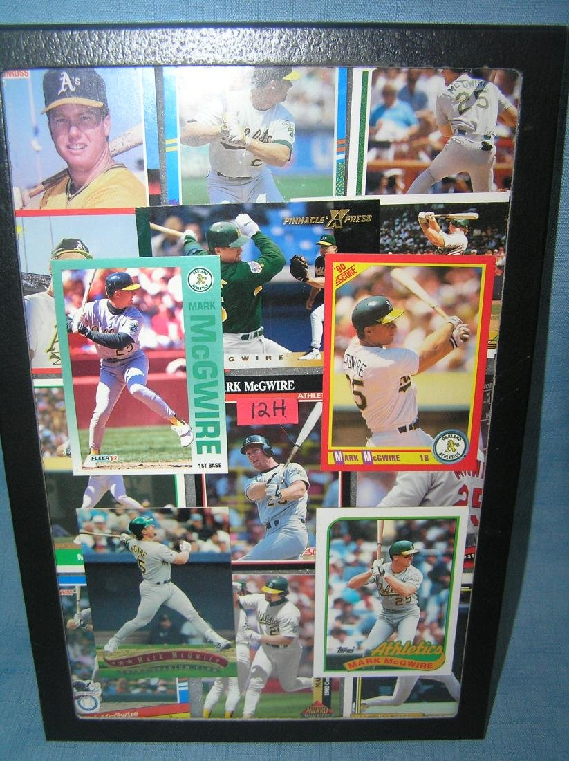 Collection of Mark McGwire all star baseball cards
