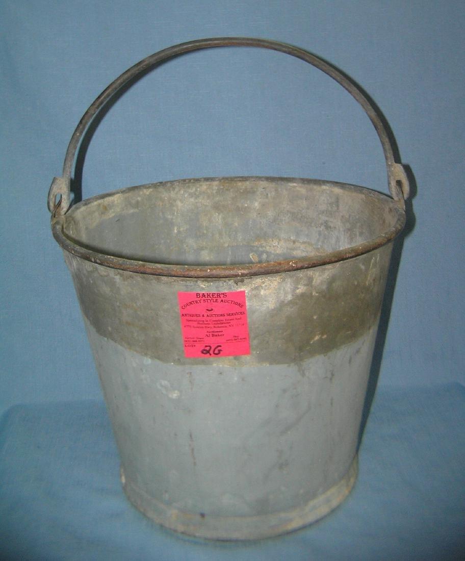 Antique farm bucket