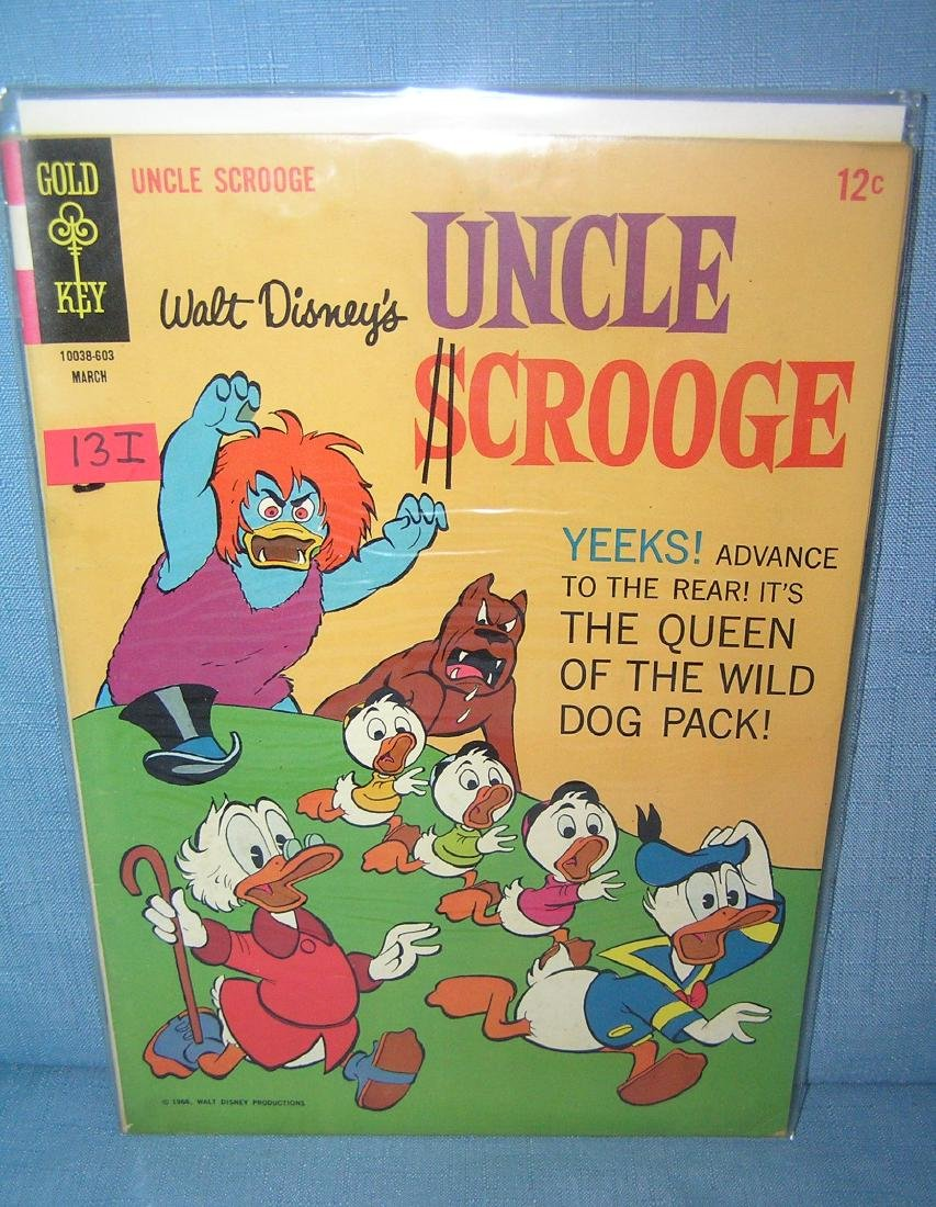 Early Uncle Scrooge 12 cent comic book