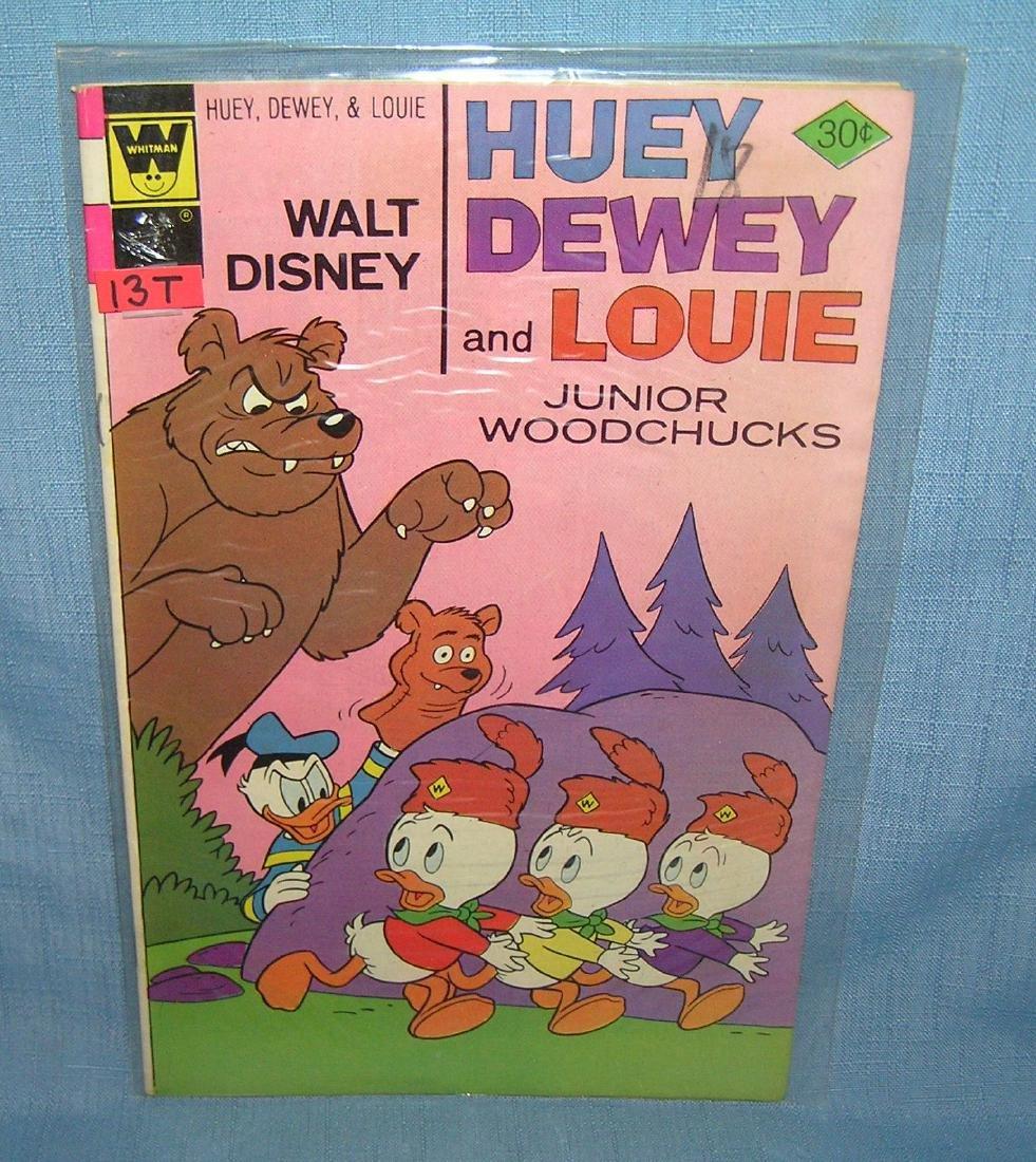 Vintage Disney Huey, Dewey and Louie comic book