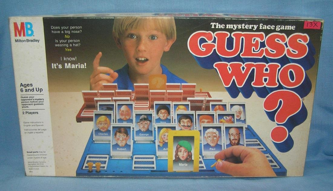 Vintage Guess Who? Game