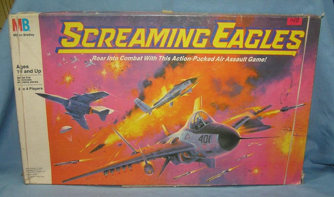 Screaming Eagles air assault game by Milton Bradley