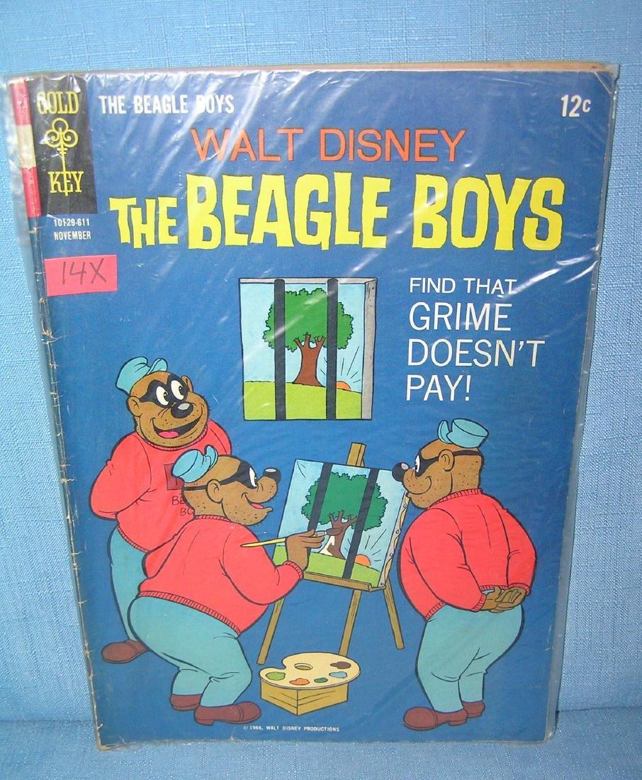 Early Beagle Boys 12 cent comic book