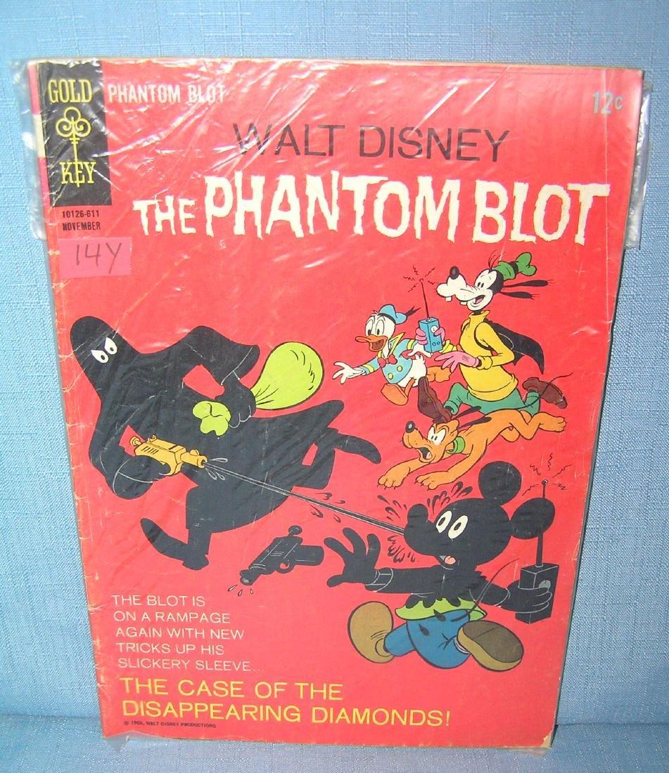 Early Disney Phantom Blot 12 cent comic book