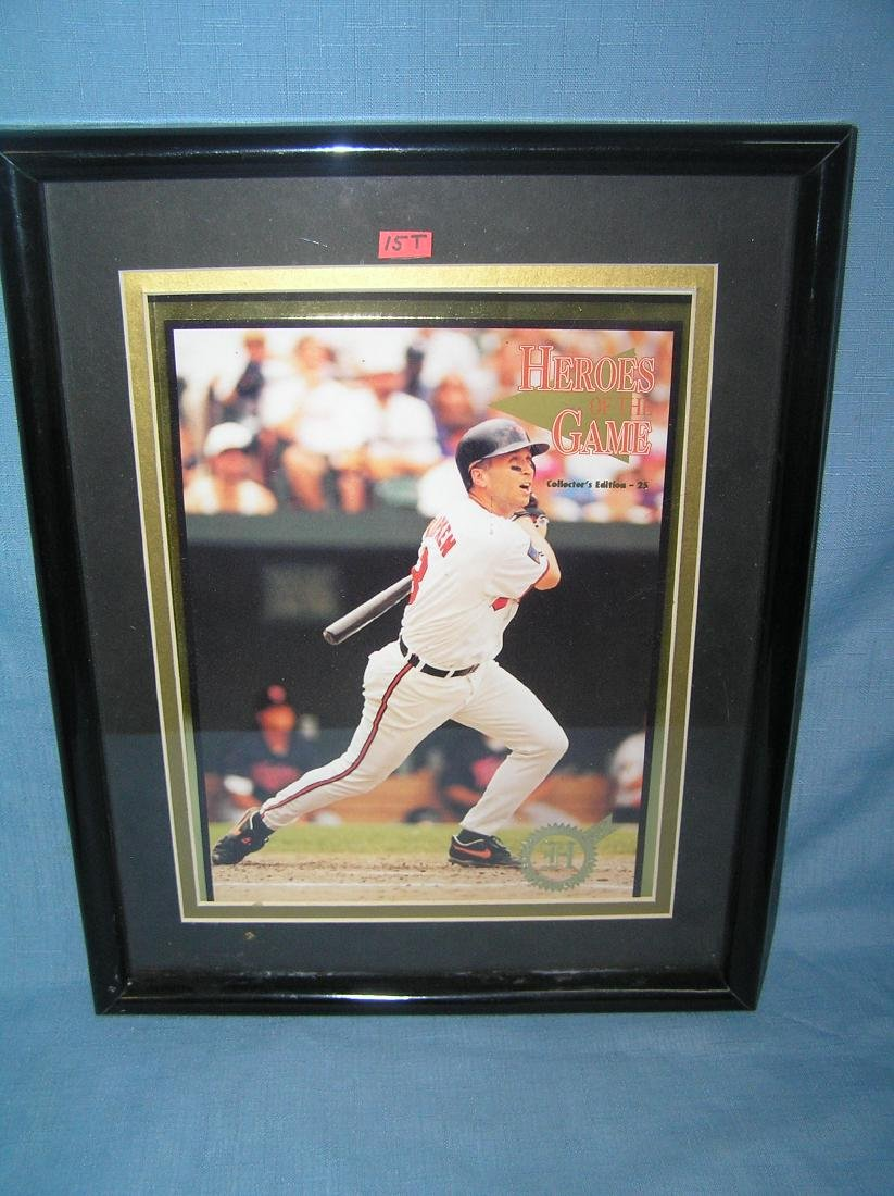 Vintage Cal Ripken Jr. heroes of the game photo