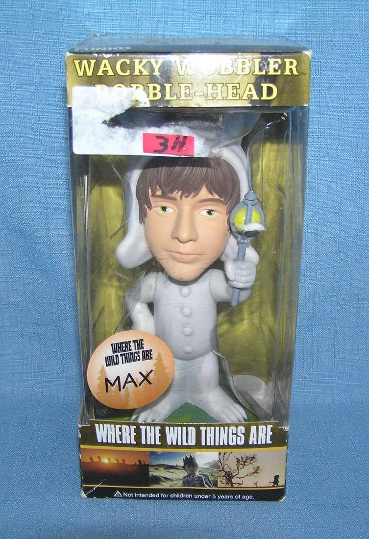 Max of where the wild things are bobble head figure