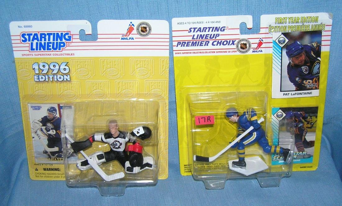 Pair of Starting Lineup Hockey sports figures
