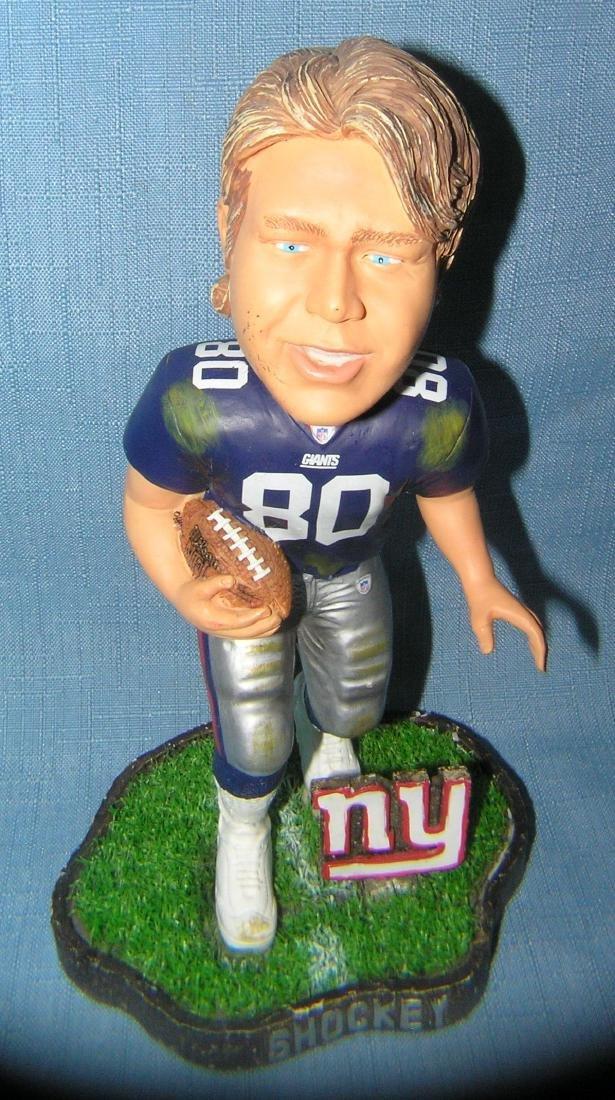 NY Giants Jeremy Shockey bobble head figure