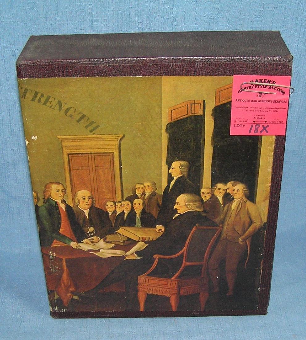 Bicentennial American History 2 vol. book set