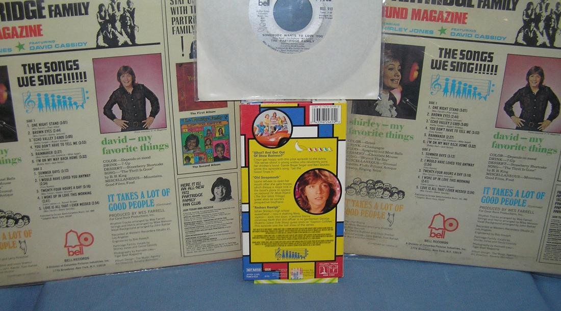 Group of Partridge Family collectibles - 3