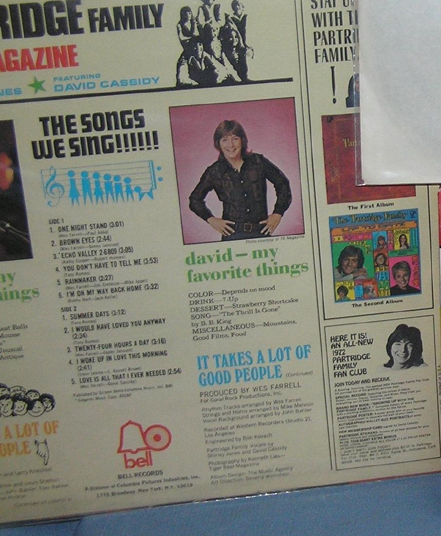Group of Partridge Family collectibles - 4