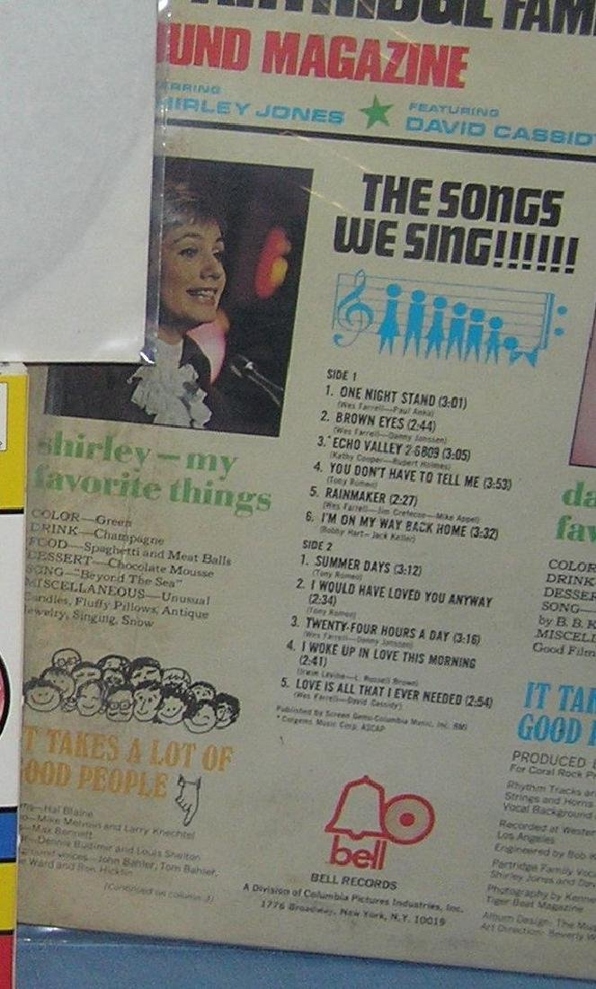 Group of Partridge Family collectibles - 5