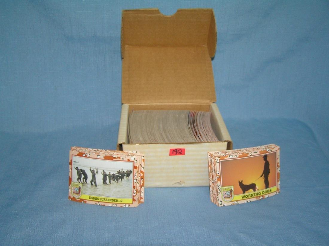 Desert Storm card set